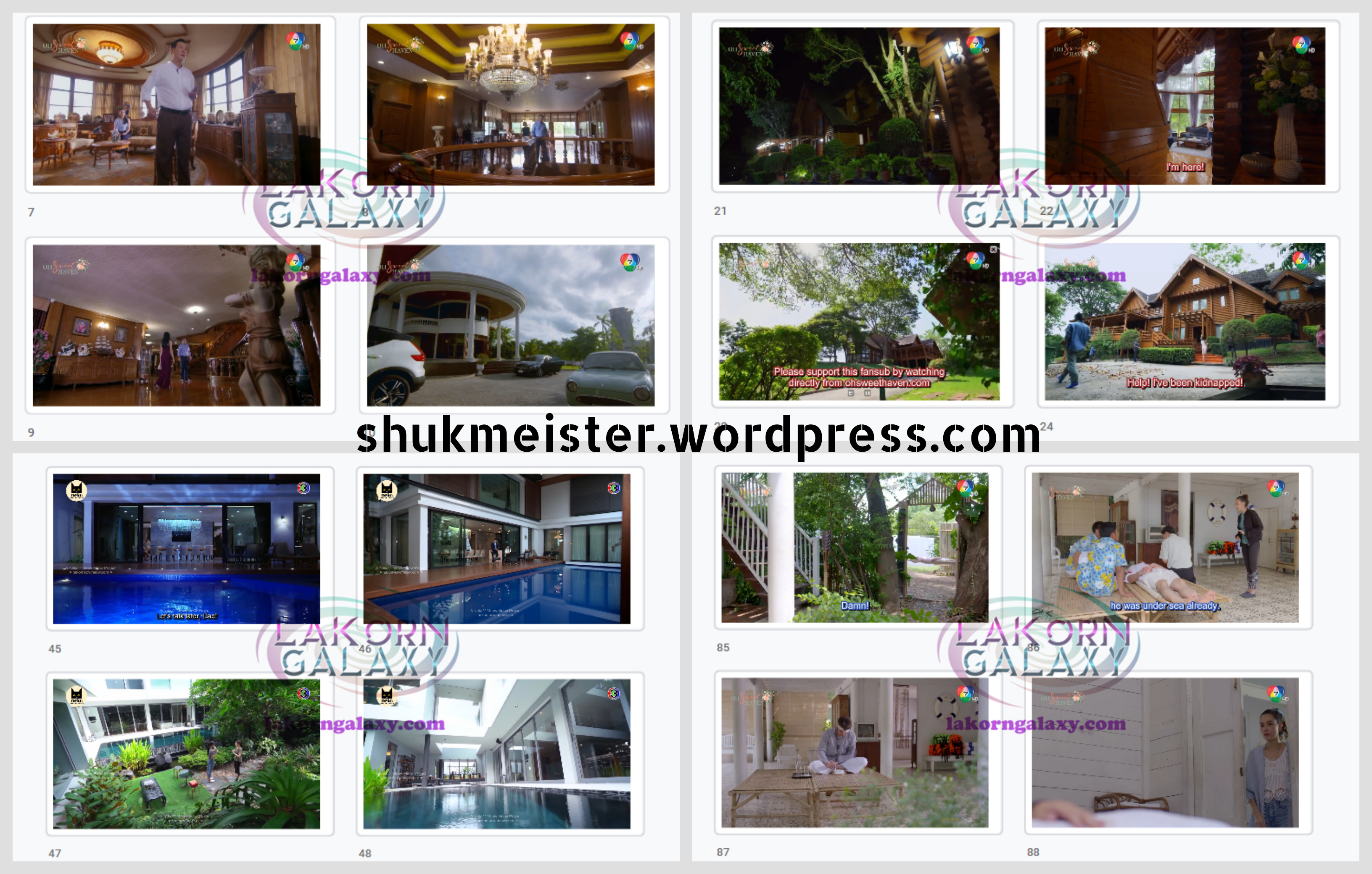 Shuk's Venture in Lakorn Locations